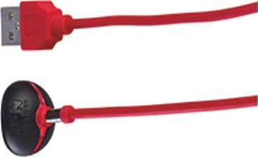 FunFactory univerzální USB nabíjecí kabel Click 'n' Charge černá