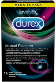 Durex Mutual Pleasure – 16ks
